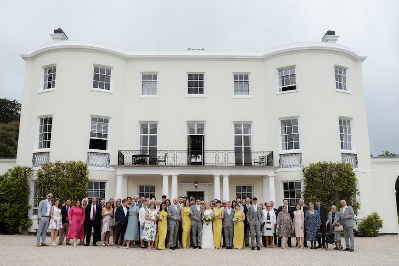 Rockbeare Manor Devon Wedding Photography