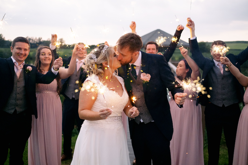 Wedding Photographer Lee Hatherall and Quantock Lakes Wedding in July 2021
